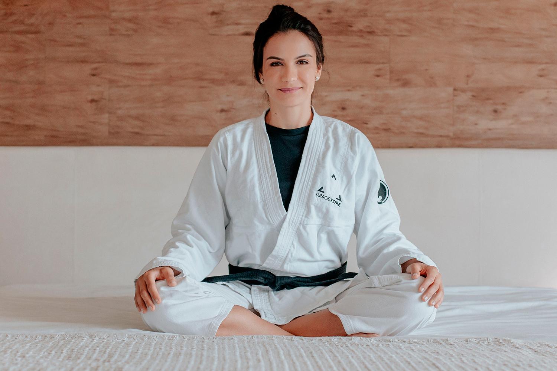Kyra Gracie: Lutadora lança curso on-line de defesa pessoal para mulheres