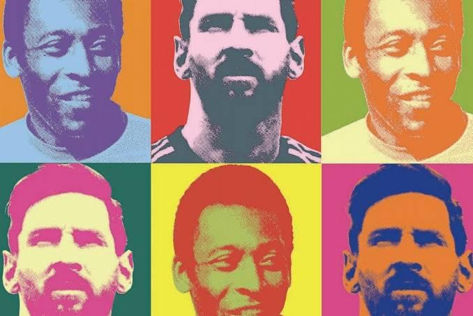 Pelé x Messi, o duelo de gênios nas páginas de PLACAR