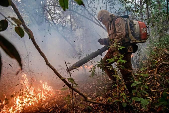 BRAZIL-PANTANAL-ENVIRONMENT-FIRE