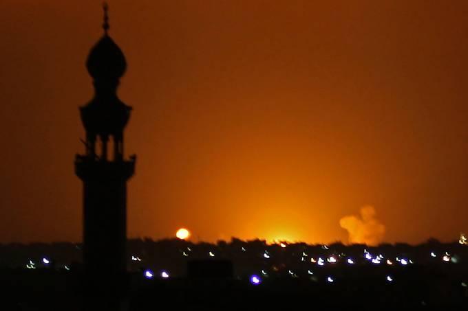 PALESTINIAN-ISRAEL-GAZA-CONFLICT-ATTACK