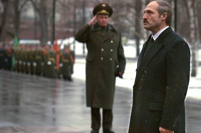 RUSSIA-LUKASHENKO-OFFICER