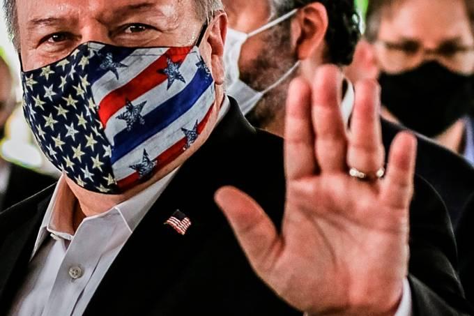 Visita del secretario estadounidense Mike Pomeo a Brasil