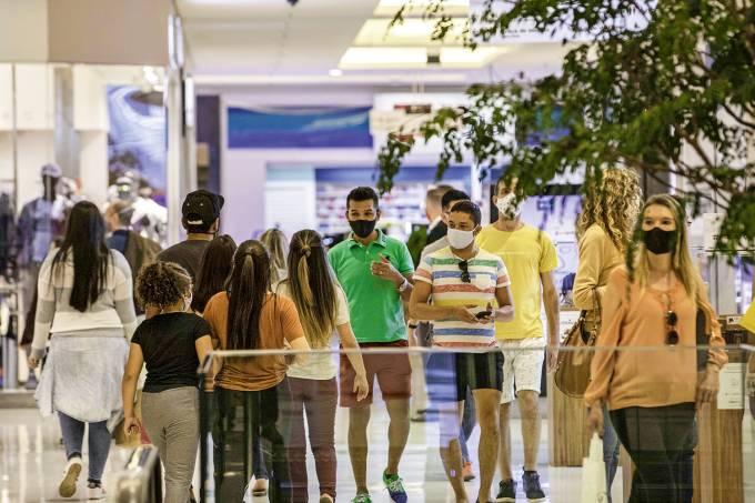 Movimentação Shopping São Paulo