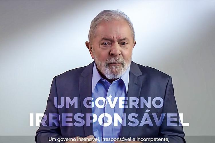 EM CAMPANHA -Lula: a certeza de que a decisão de Bolsonaro vai beneficiá-lo fez com que o petista começasse a se movimentar para organizar a oposição -