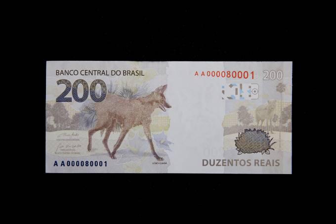nota 200 reais