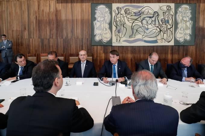 28/09/2020 Reunião com ministros e parlamentares