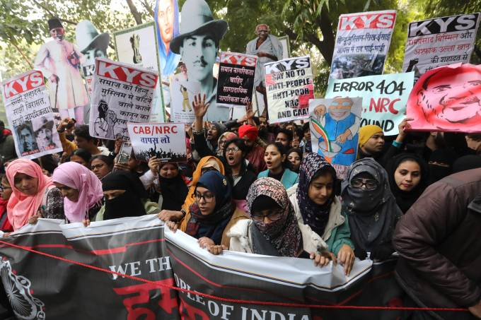Ongoing protests against Citizenship Amendment Bill in India