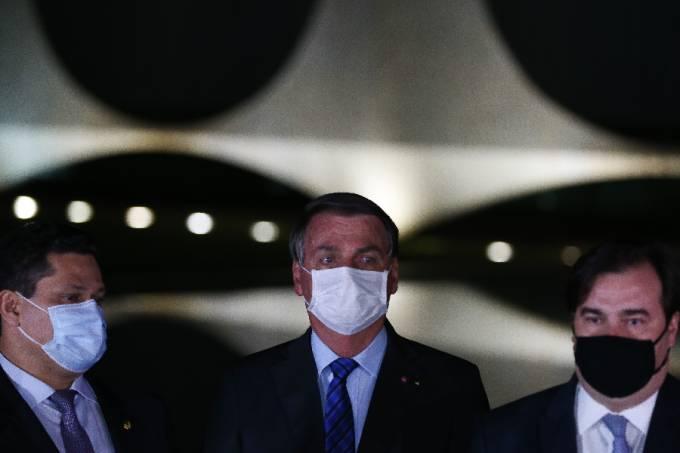 Alcolumbre, Bolsonaro e Maia (1)