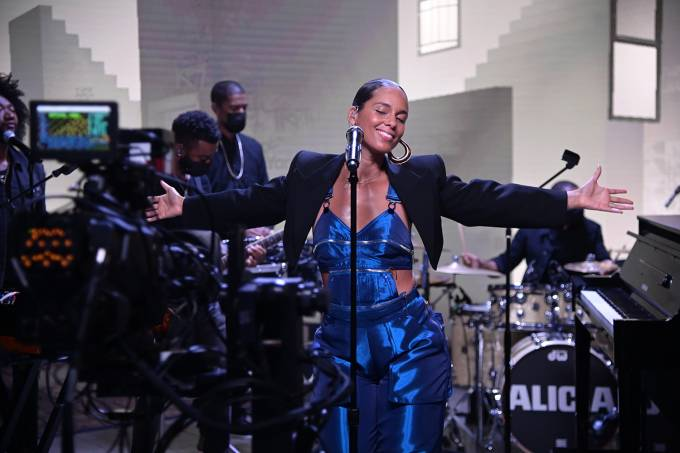 American Express UNSTAGED X Alicia Keys Performance