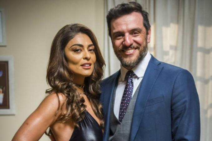 """Casal em 'A Força do Querer', Juliana Paes e Rodrigo Lombardi se preparam para dublar um casal na animação """"Os Croods 2"""" da Universal"""