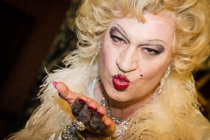 Bavarian Minister of Finance Markus Soeder dressed as Marilyn Monroe