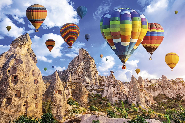 VENTO A FAVOR -Balões sobre a Capadócia, na Turquia: entrada liberada sem testes nem quarentena -