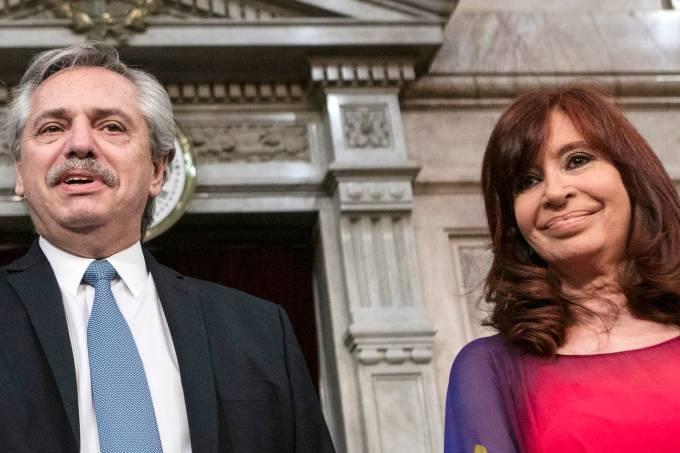 Alberto Fernandez Cristina Fernandez