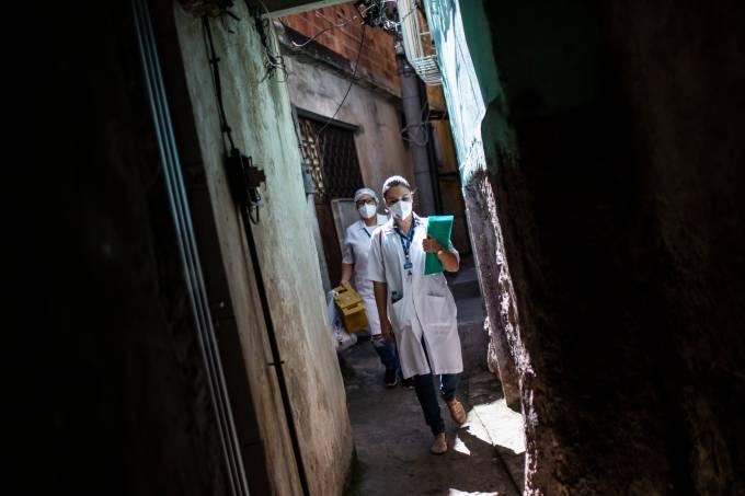 rio favela coronavírus covid-19 pandemia