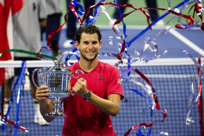 Dominic Thiem conquistou o US Open de 2020