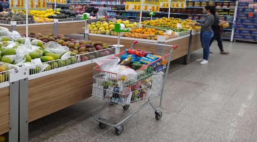 Brasil: preços de alimentos sobem junto com a inflação