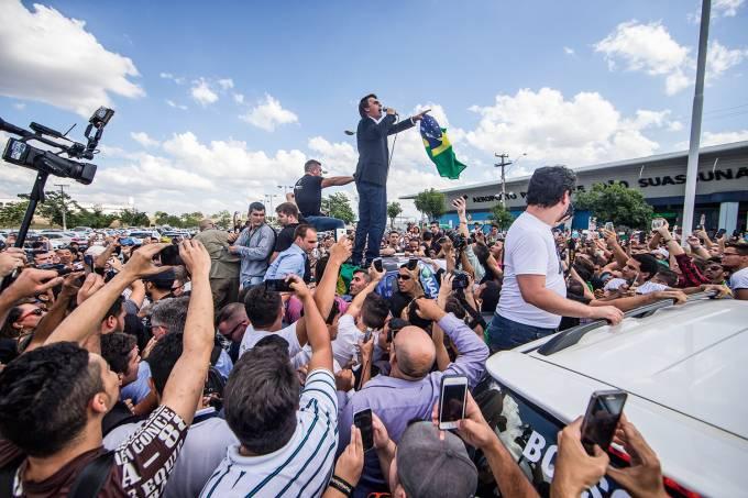 Campina Grande – 08/02/2017 – Imagens do Deputado Jair Bolsonaro pelas ruas de Campina Grande para materia especial na Revista Veja. Foto: Jonne Roriz