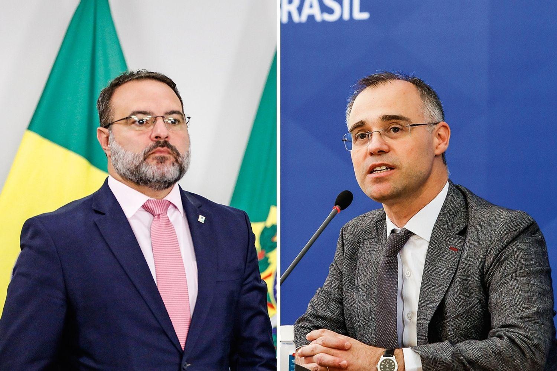 BOLSA DE APOSTAS -Jorge Oliveira e André Mendonça: os dois mais cotados para assumir a próxima vaga no STF -