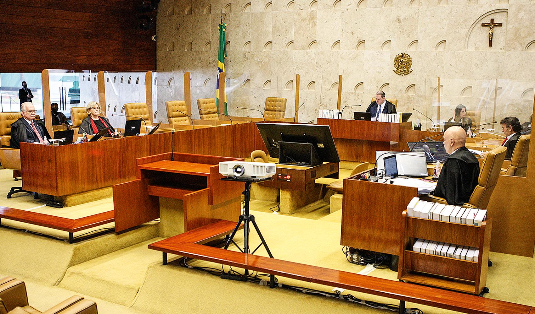 DESTINO -A Segunda Turma do STF: decisão sobre a suspeição do ex-juiz pode favorecer candidatura de Lula -