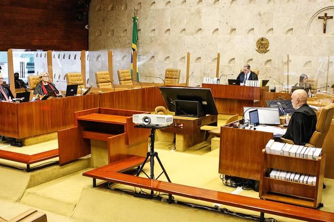 Sessão plenária. Foto: Nelson Jr./SCO/STF (09/09/2020)
