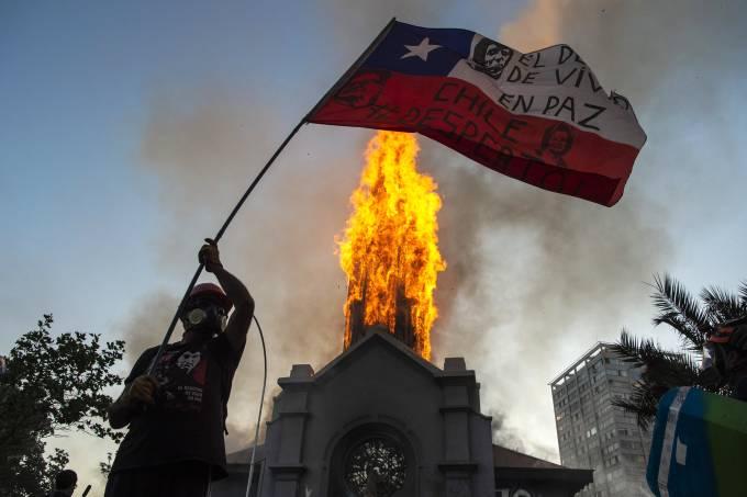 CHILE-CRISIS-PROTEST-ANNIVERSARY