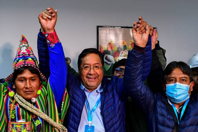 BOLIVIA-ELECTION-ARCE