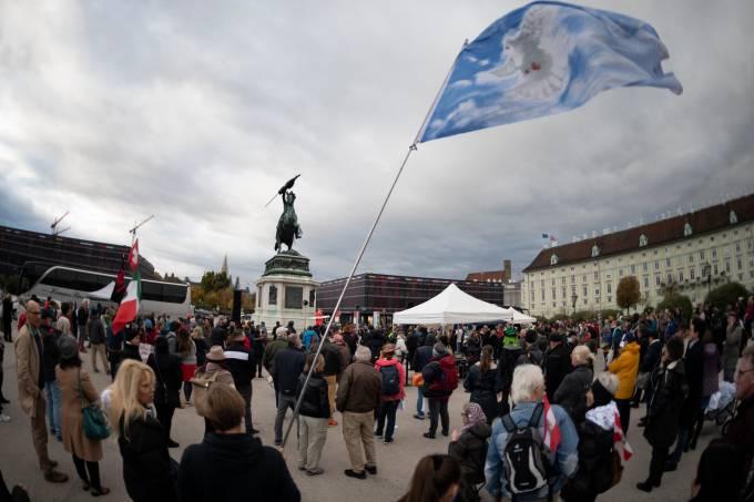 AUSTRIA-VIRUS-PROTEST-GOVERNMENT-HEALTH-EPIDEMIC