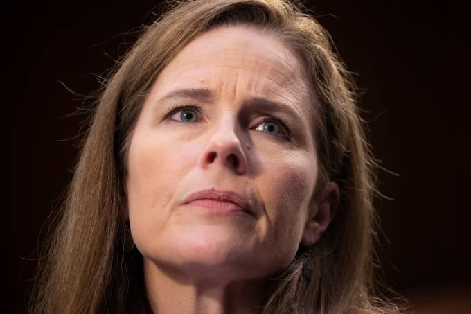 Estados Unidos Suprema Corte Senado Amy Coney Barrett