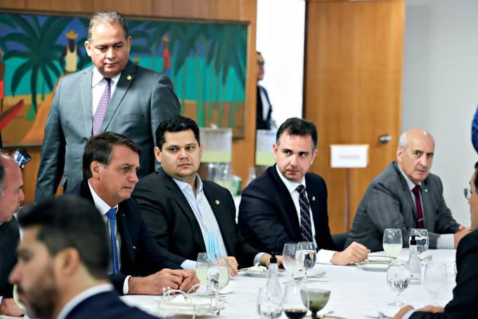 07/10/2020 Almoço com parlamentares