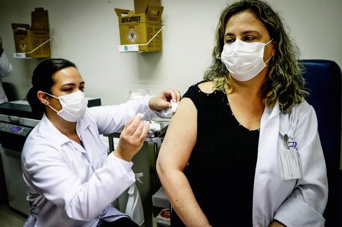 EmÌlio Ribas inicia testes com Corona Vac