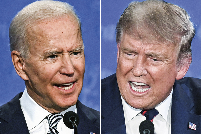 No lugar do debate, Trump e Biden darão entrevistas ao vivo ao mesmo tempo  | VEJA