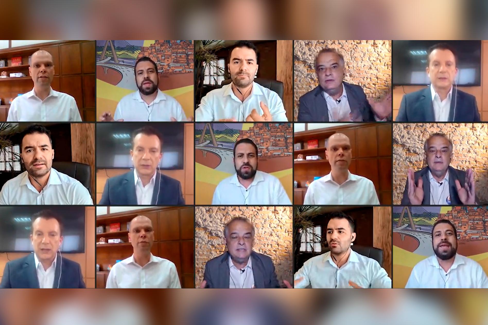 Eleições: cinco perguntas para cinco candidatos a prefeito de São Paulo