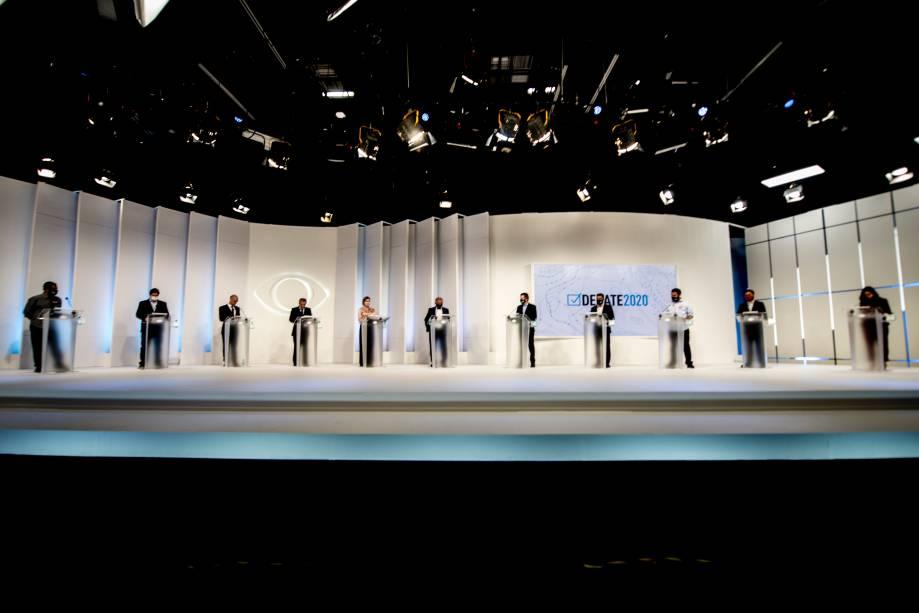 Debate eleitoral para a prefeitura de São Paulo -
