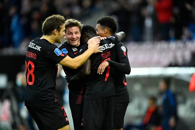 FC Midtjylland vs OB Odense – Danish 3F Superliga