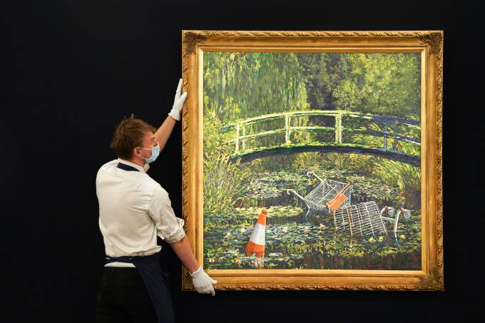 Banksy 'Show Me The Monet' To Star In Sotheby's 'Modernites/Contemporary' Evening Sale Series