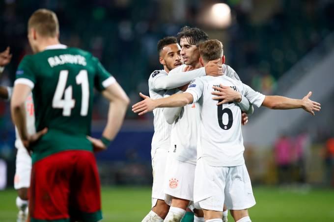 Lokomotiv Moskva v FC Bayern Muenchen: Group A – UEFA Champions League