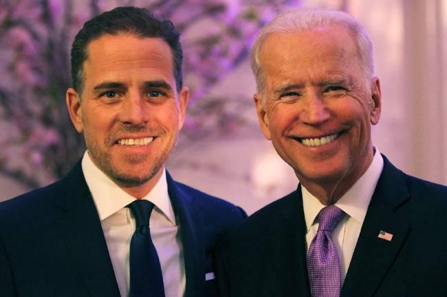 Robert Hunter Biden e Joe Biden