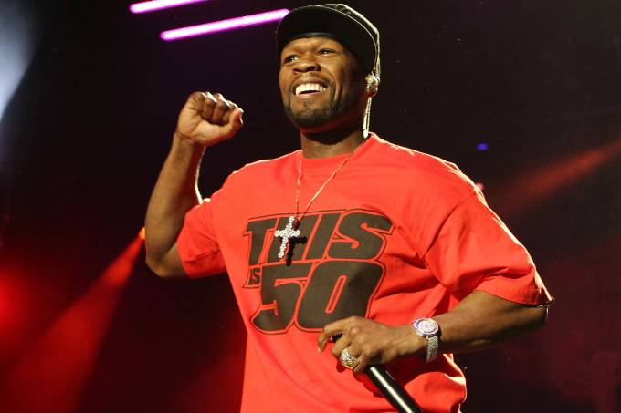 50 Cent Performs At The 02 Dublin