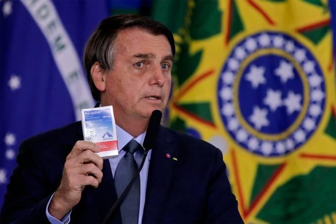 BRAZIL-POLITICS-HEALTH-VIRUS-BOLSONARO-PAZUELLO