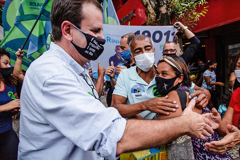 Paes segue liderando a disputa pela Prefeitura do Rio