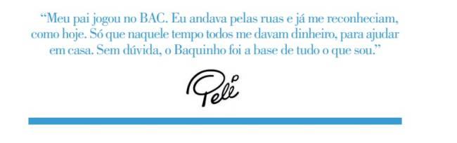 Comentário Pelé