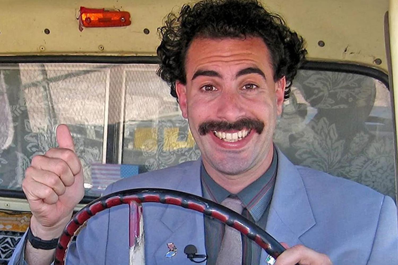 'Borat' faz piada com Bolsonaro e o compara ao ditador Kim Jong-Un