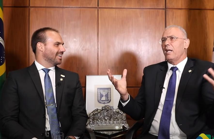 """""""Esperamos a mudança da embaixada"""", diz embaixador de Israel"""