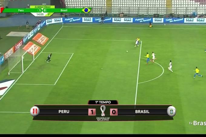 Peru x Brasil na TV Brasil