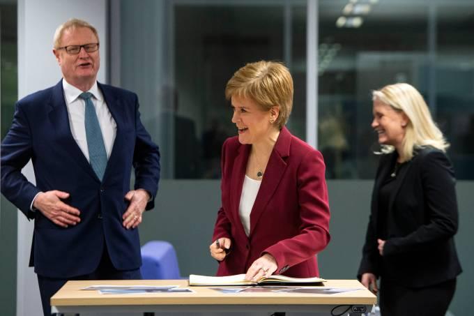 Escócia Nicola Sturgeon