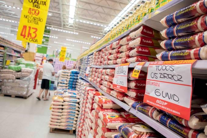 """InflaÁ""""o setor de alimentos"""