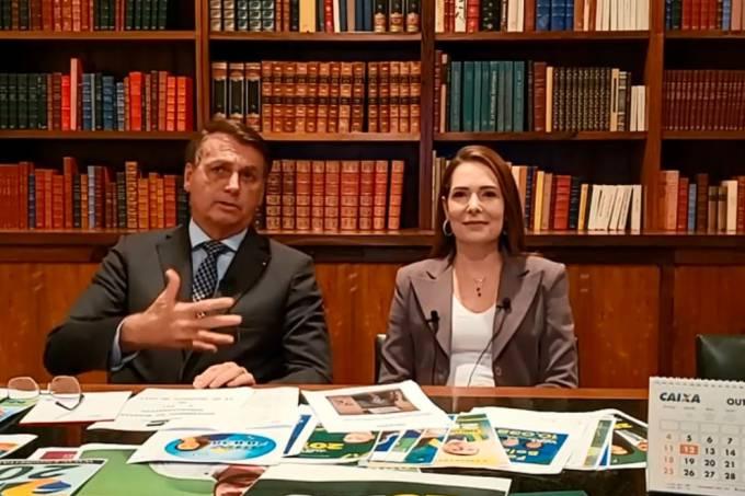 Bolsonaro e Patrícia