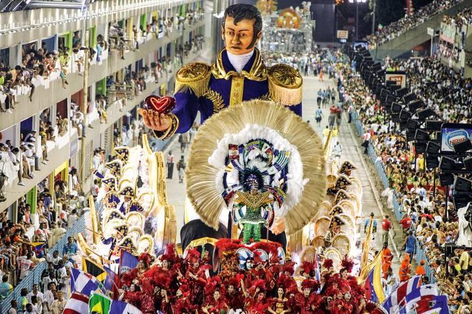 BRAZIL-SAMBA-PARADE