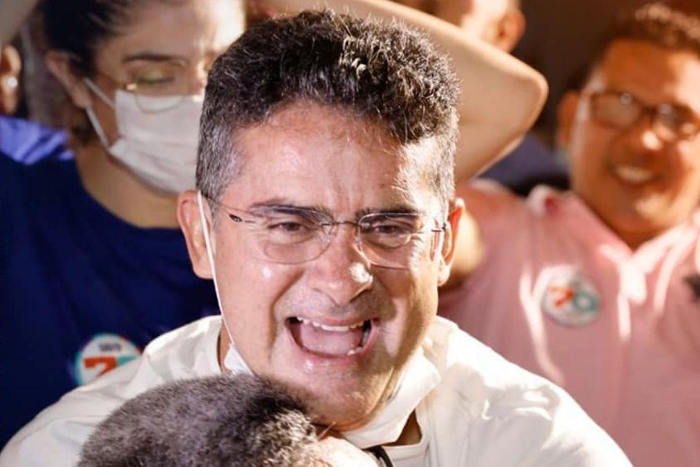 O prefeito eleito de Manaus, David Almeida (Avante)