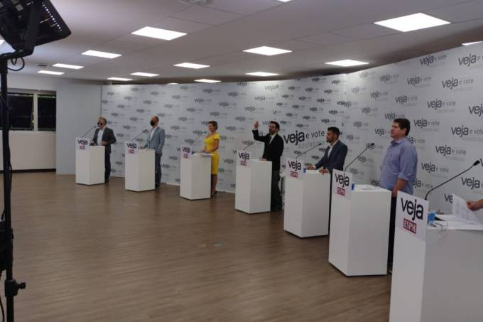 Debate – candidatos